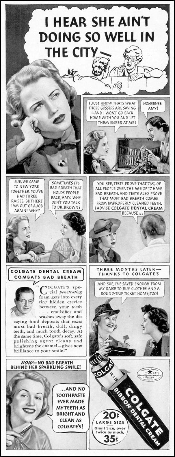 COLGATE DENTAL CREAM LIFE 09/20/1937 p. 17