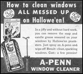 A-PENN WINDOW CLEANER WOMAN'S DAY 10/01/1939 p. 46