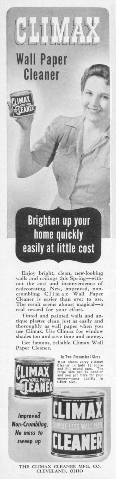 CLIMAX CLEANER WOMAN'S DAY 04/01/1941 p. 68