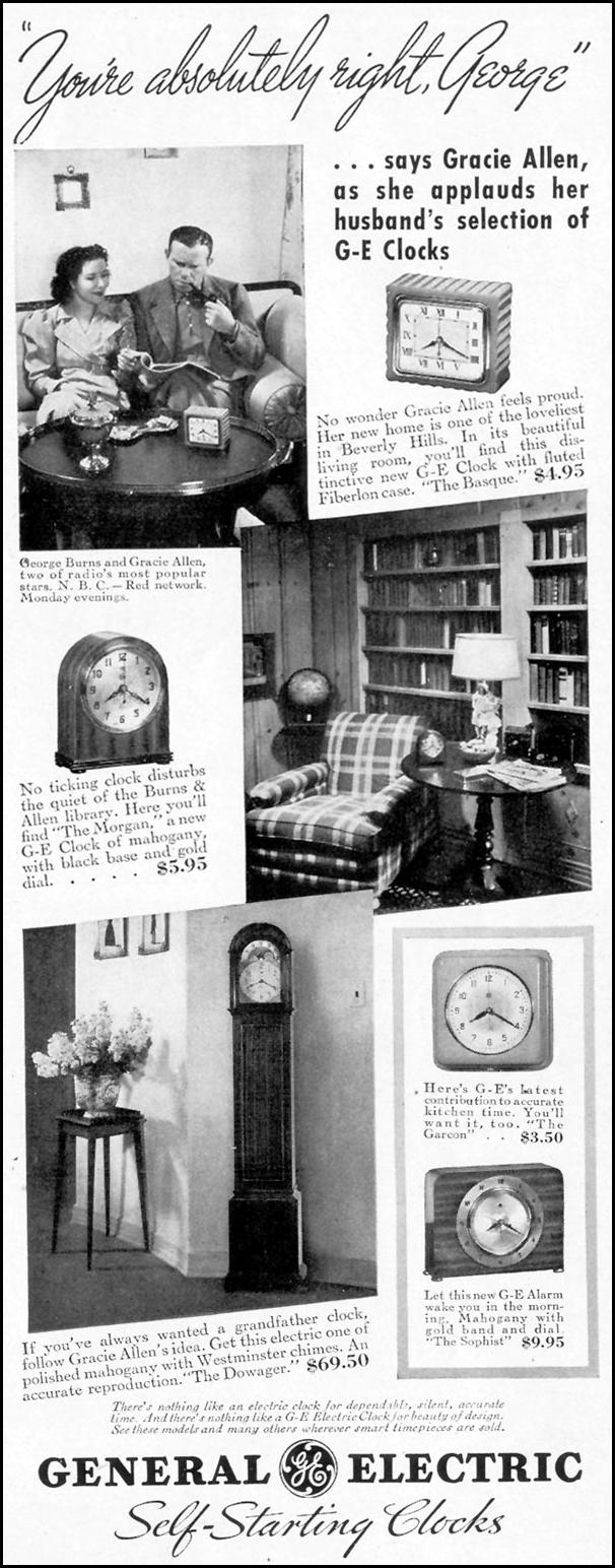 GENERAL ELECTRIC SELF-STARTNG CLOCKS LIFE 09/06/1937 p. 77