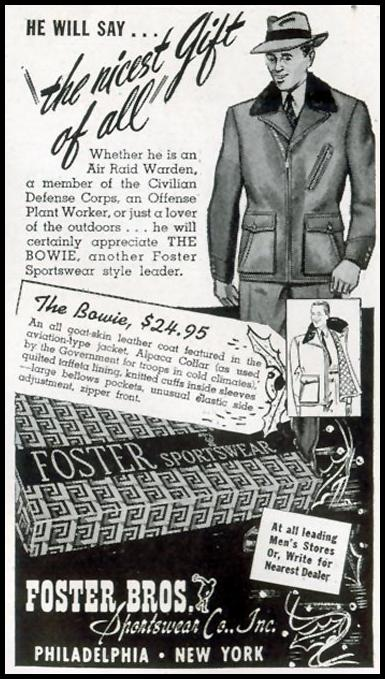THE BOWIE JACKET LIFE 11/30/1942 p. 124