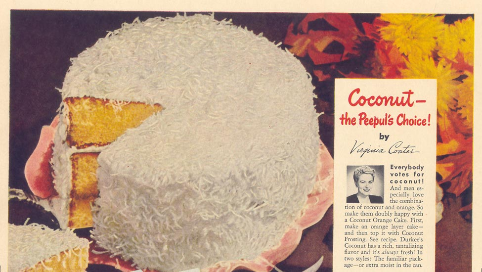 DURKEE'S COCONUT LIFE 11/15/1948
