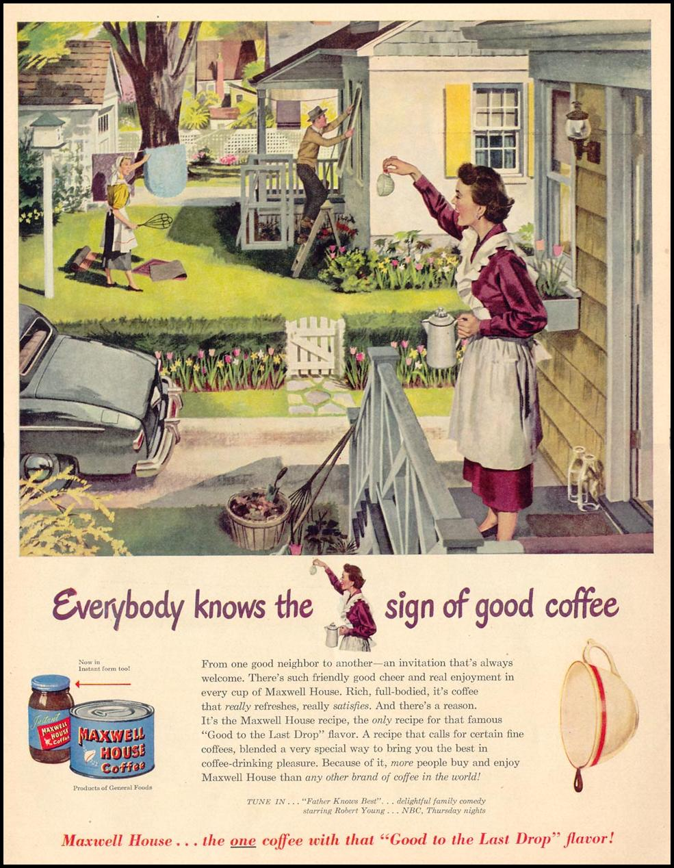 MAXWELL HOUSE COFFEE LIFE 04/17/1950 p. 38