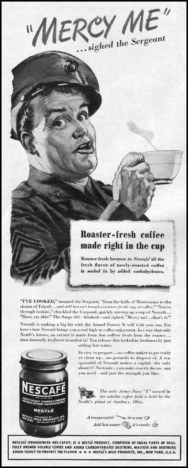 NESCAFE INSTANT COFFEE LIFE 06/04/1945 p. 38