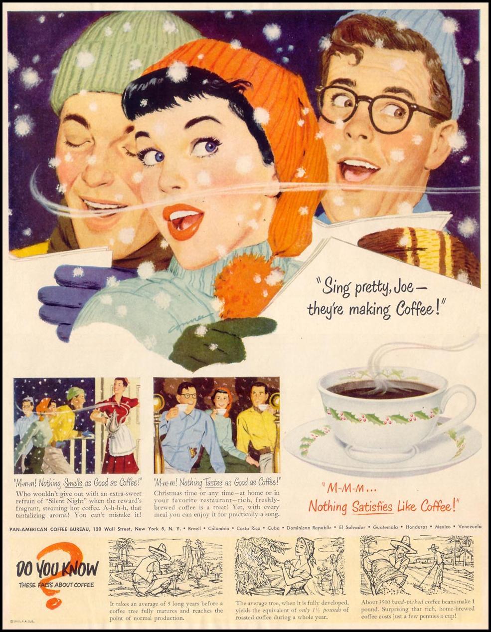 COFFEE LIFE 12/25/1950
