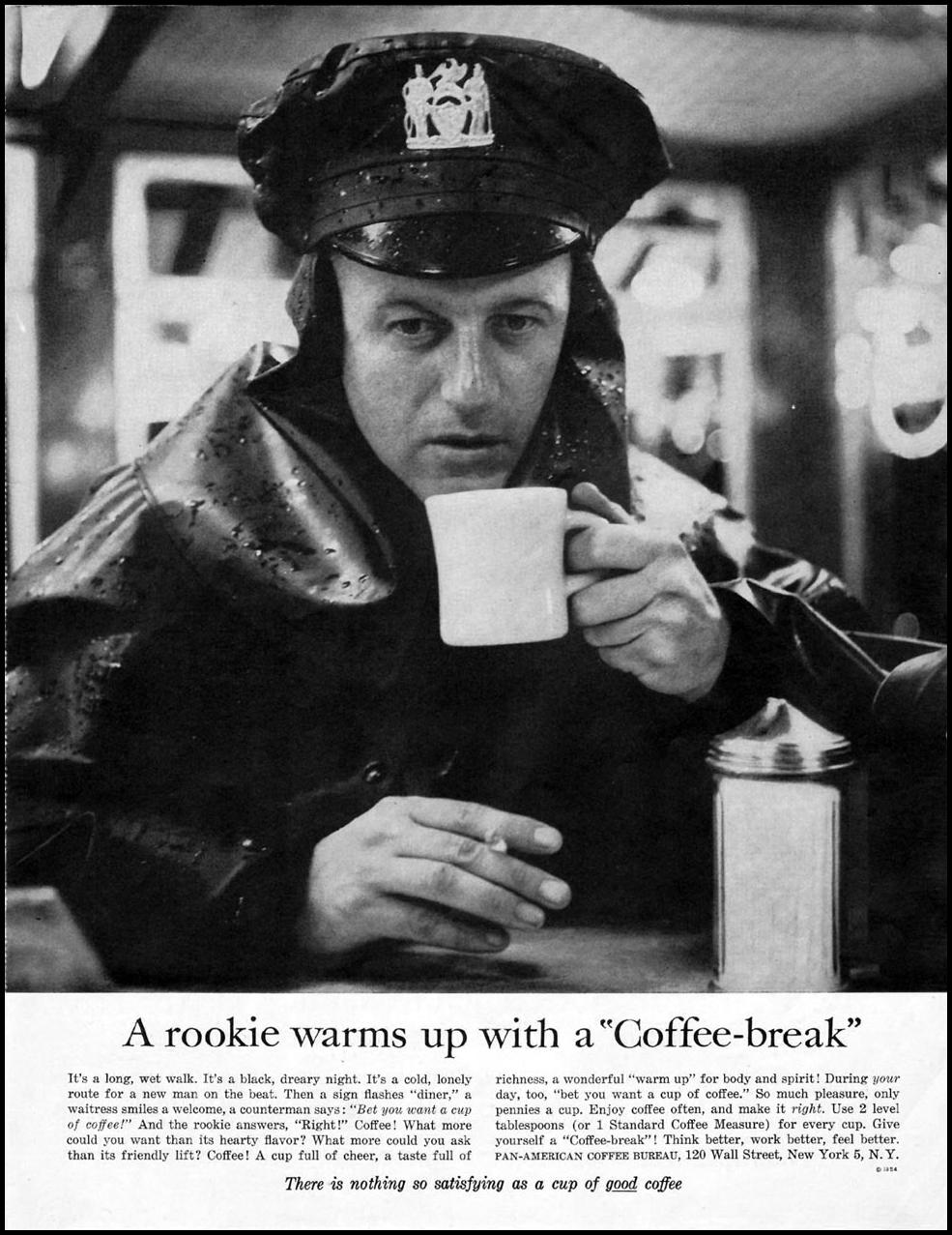 COFFEE SATURDAY EVENING POST 01/08/1955