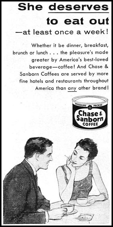 CHASE & SANBORN COFFEE TIME 05/05/1958 p. 68