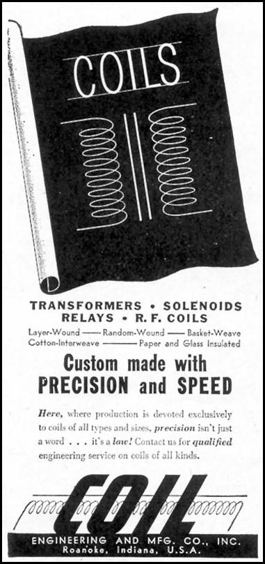 COIL TRANSFORMERS TIME 06/15/1942 p. 66