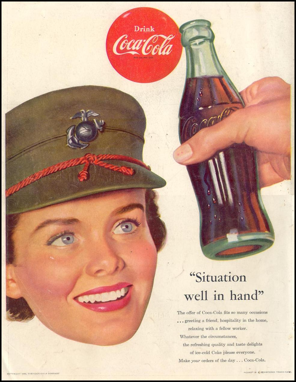 COCA-COLA LIFE 02/02/1953 BACK COVER