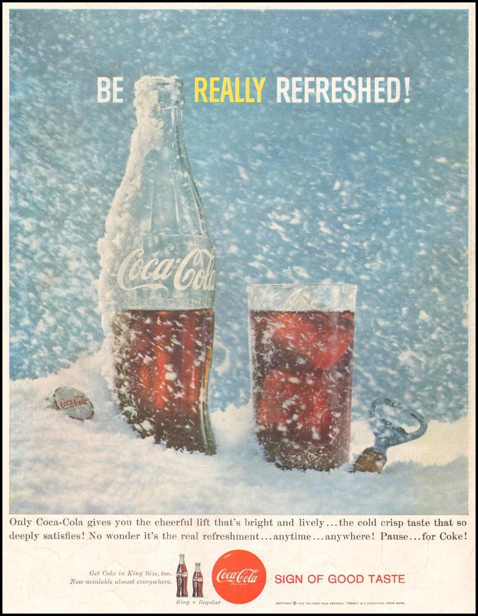 COCA-COLA LIFE 08/10/1959 BACK COVER