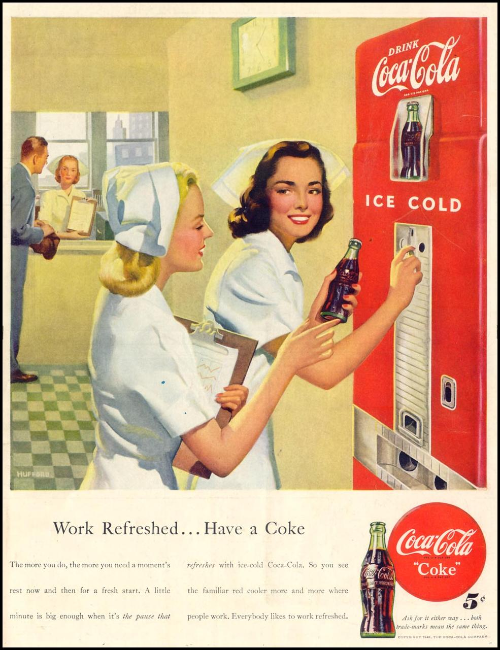 COCA-COLA LIFE 11/15/1948 BACK COVER