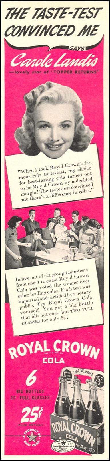 ROYAL CROWN COLA WOMAN'S DAY 04/01/1941 p. 5