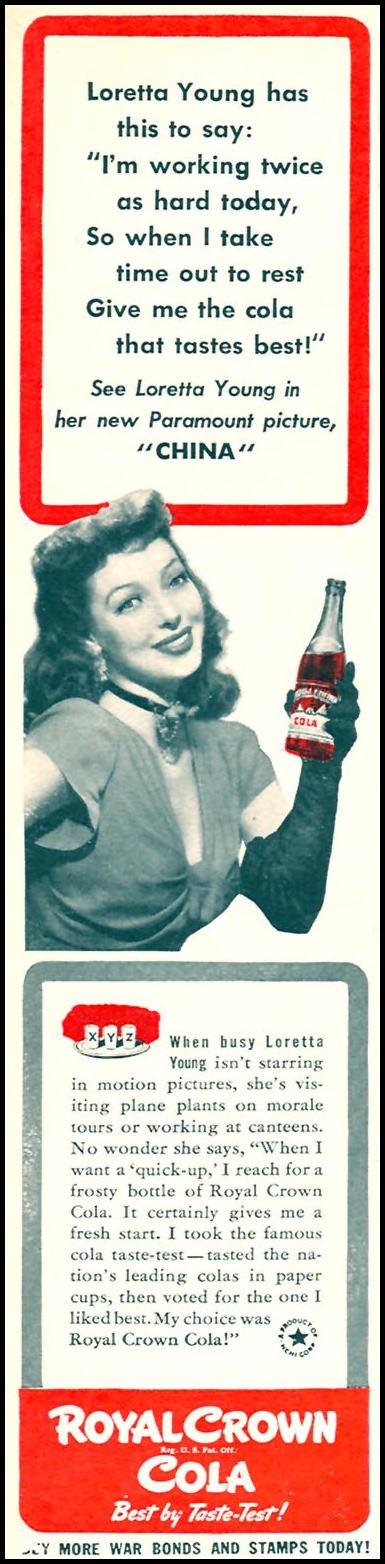 ROYAL CROWN COLA WOMAN'S DAY 06/01/1943 p. 6