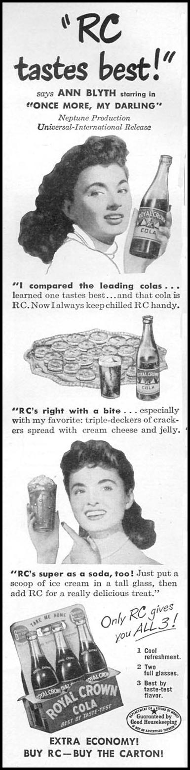 ROYAL CROWN COLA WOMAN'S DAY 08/01/1949 p. 6