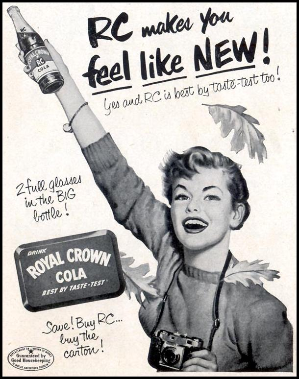 ROYAL CROWN COLA LIFE 10/19/1953 p. 170