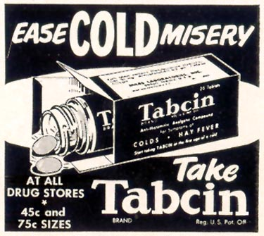 TABCIN COLD REMEDY LIFE 02/02/1953 p. 75