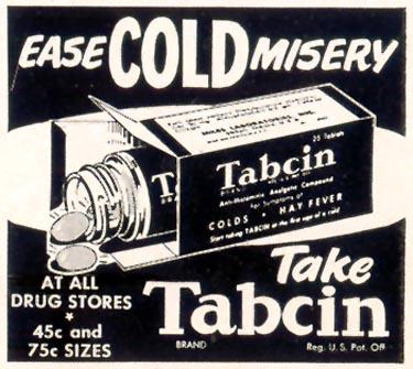 TABCIN COLD REMEDY LIFE 02/02/1953 p. 75