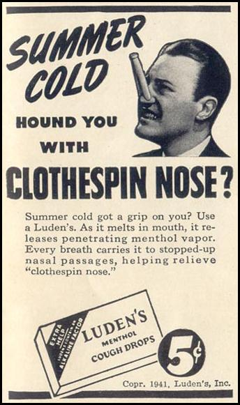 LUDEN'S COUGH DROPS LIFE 06/23/1941 p. 77