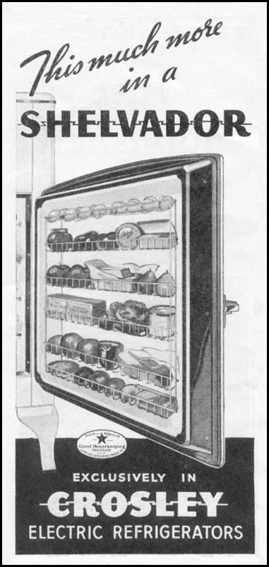 CROSLEY ELECTRIC REFRIGERATORS