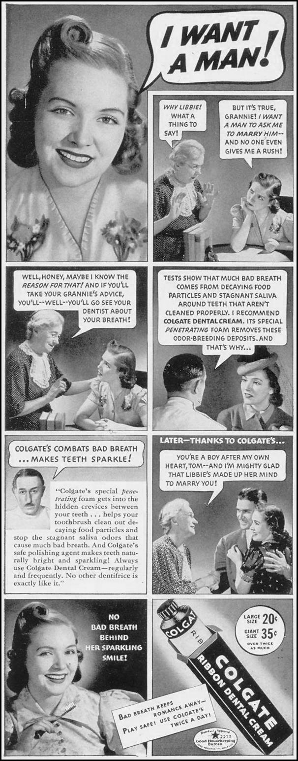 COLGATE DENTAL CREAM LIFE 07/24/1939 p. 6