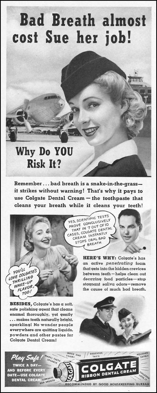 COLGATE DENTAL CREAM LIFE 08/04/1941 p. 8