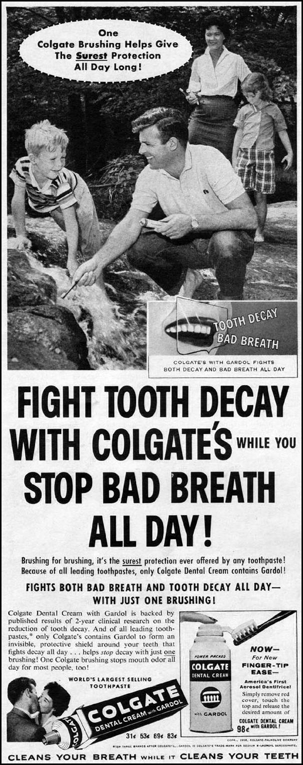 COLGATE DENTAL CREAM LIFE 09/15/1958 p. 42