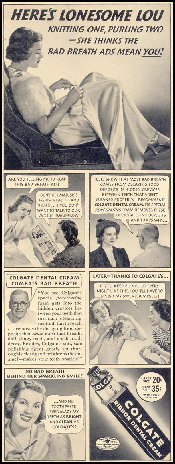 COLGATE DENTAL CREAM LIFE 10/17/1938 p. 7