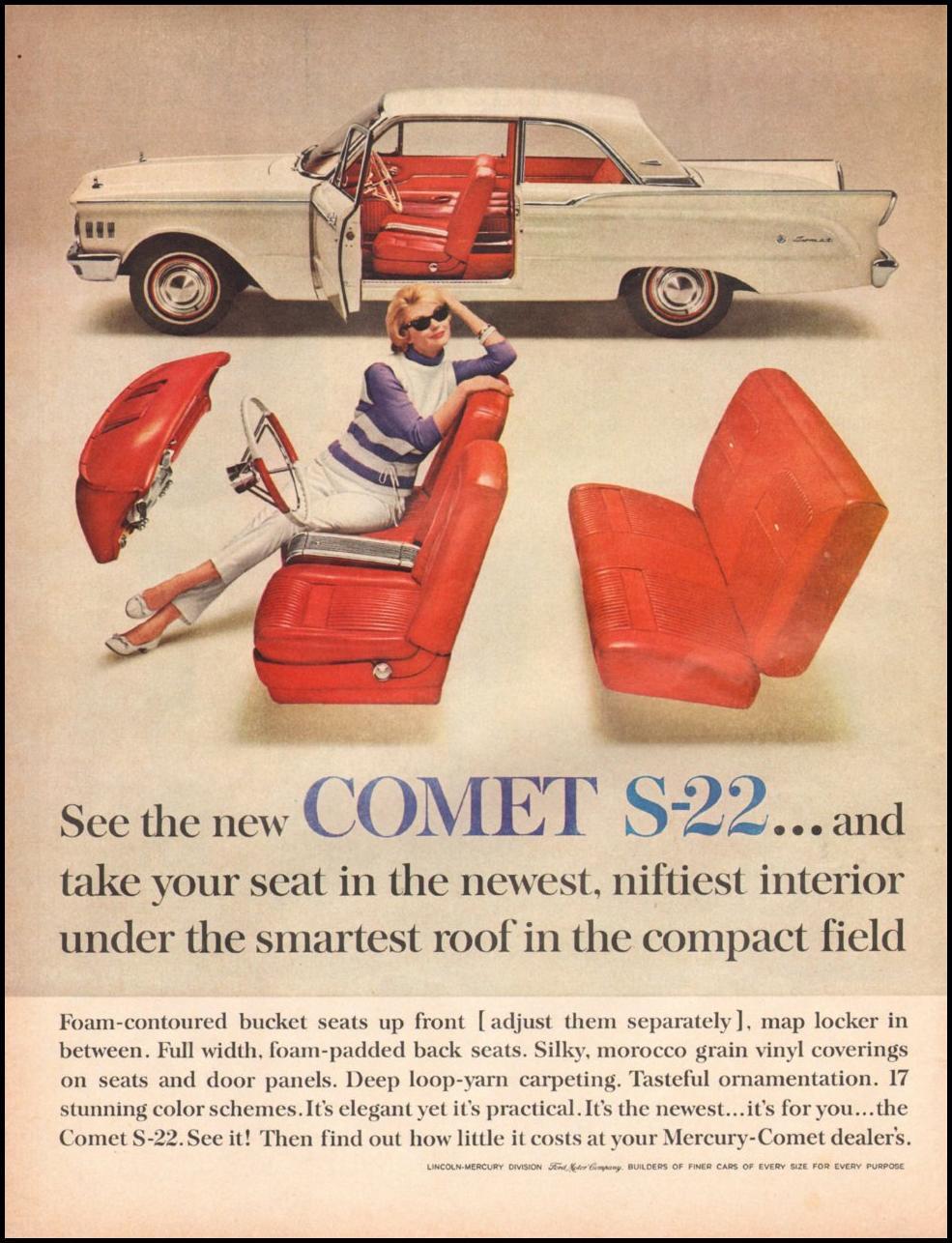 MERCURY AUTOMOBILES LIFE 05/05/1961