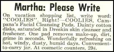 COOLIES FACIAL CLEANING PADS LIFE 04/13/1953 p. 178