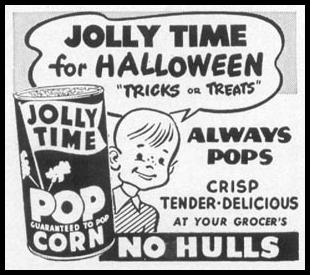 JOLLY TIME POPCORN WOMAN'S DAY 10/01/1949 p. 140