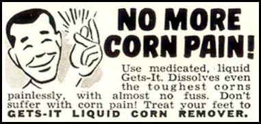 GETS-IT LIQUID CORN REMOVER LIFE 07/06/1953 p. 88