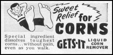 GETS-IT LIQUID CORN REMOVER LIFE 07/12/1954 p. 80