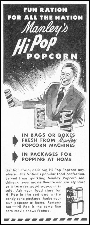 MANLEY'S HI POP POPCORN LIFE 10/11/1948 p. 114