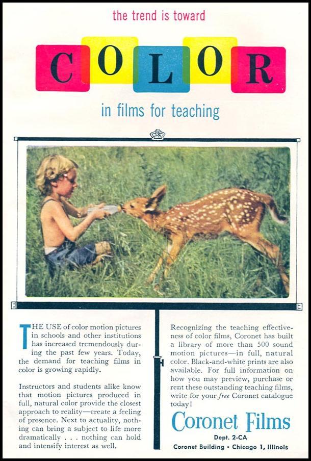 CORONET FILMS CORONET 07/01/1954 p. 17