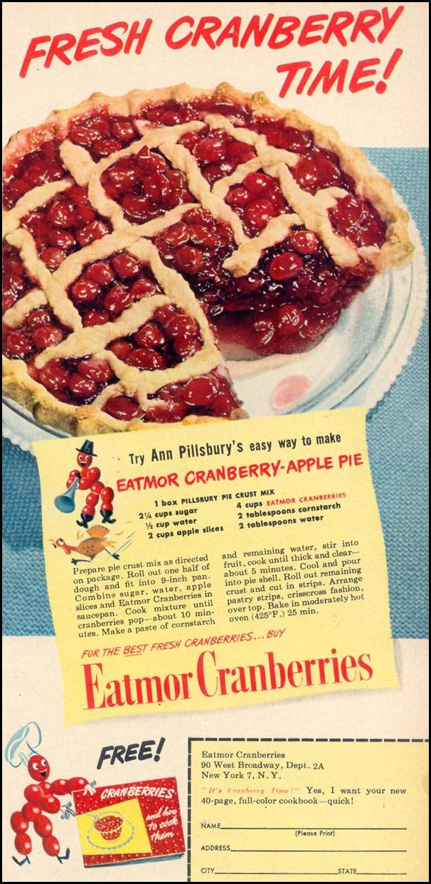 EATMOR CRANBERRIES WOMAN'S DAY 11/01/1948