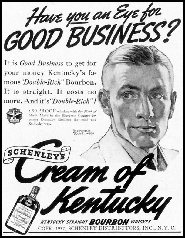 CREAM OF KENTUCKY BOURBON LIFE 10/04/1937 p. 118