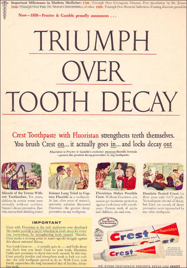CREST TOOTHPASTE PHOTOPLAY 08/01/1956 p. 36
