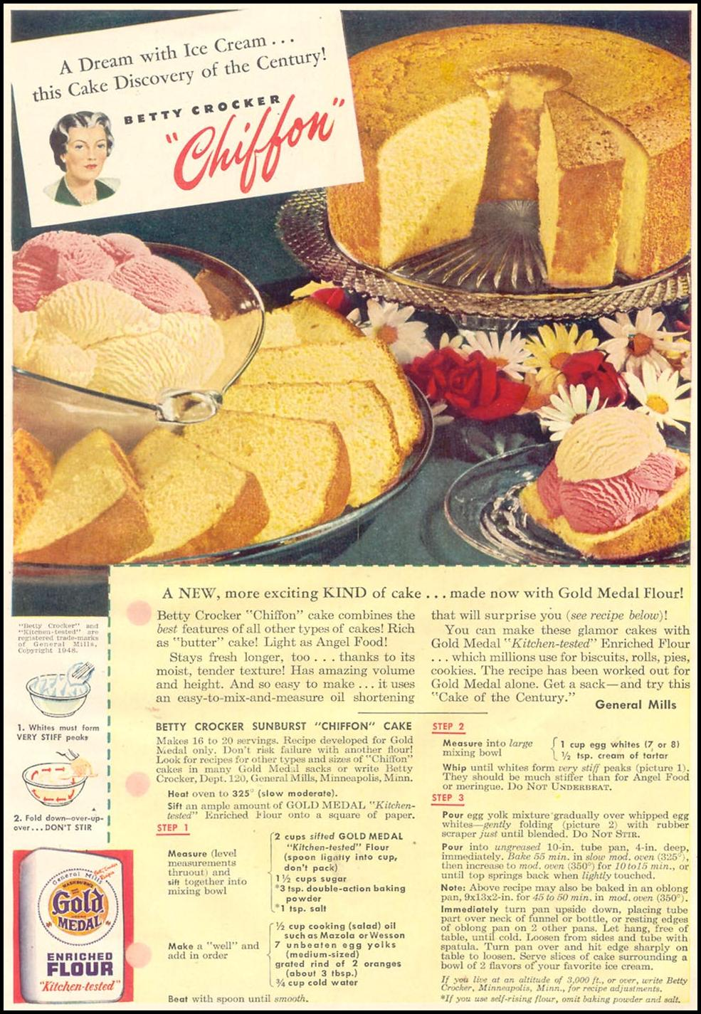 GOLD MEDAL FLOUR GOOD HOUSEKEEPING 07/01/1948 p. 163