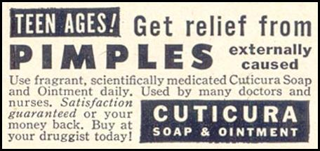 CUTICURA SOAP & OINTMENT GOOD HOUSEKEEPING 07/01/1949 p. 188