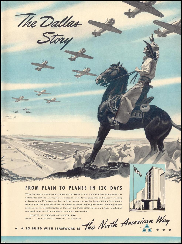 NORTH AMERICAN WAR PRODUCTION LIFE 10/13/1941
