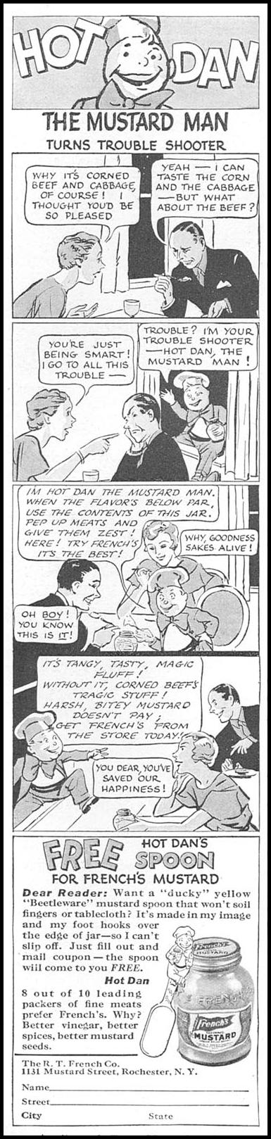 FRENCH'S PREPARED MUSTARD GOOD HOUSEKEEPING 04/01/1936 p. 112