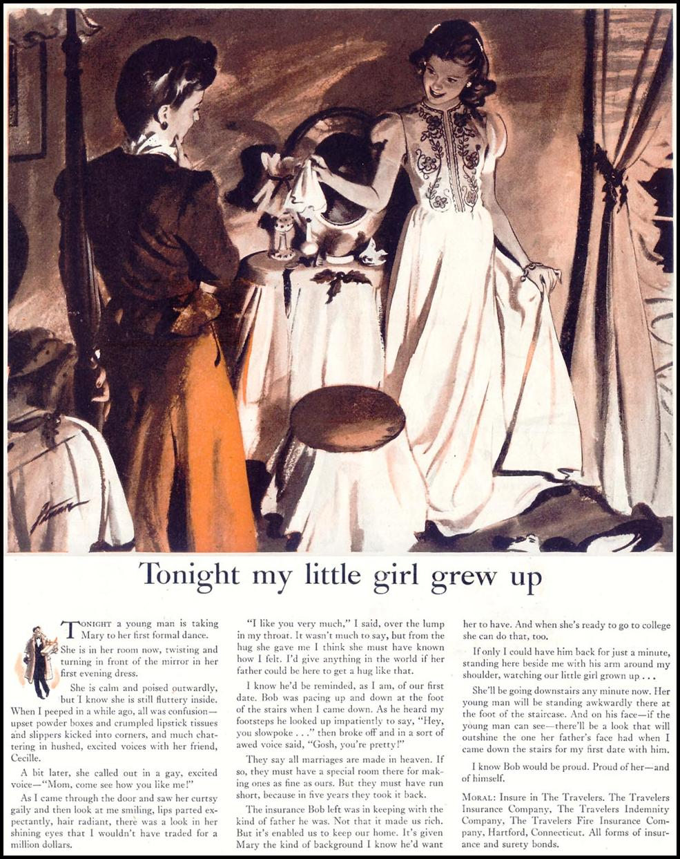LIFE INSURANCE SATURDAY EVENING POST 05/19/1945
