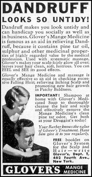 GLOVER'S MANGE MEDICINE LIFE 07/18/1938 p. 68