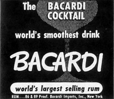 BACARDI RUM LIFE 12/25/1950 p. 80