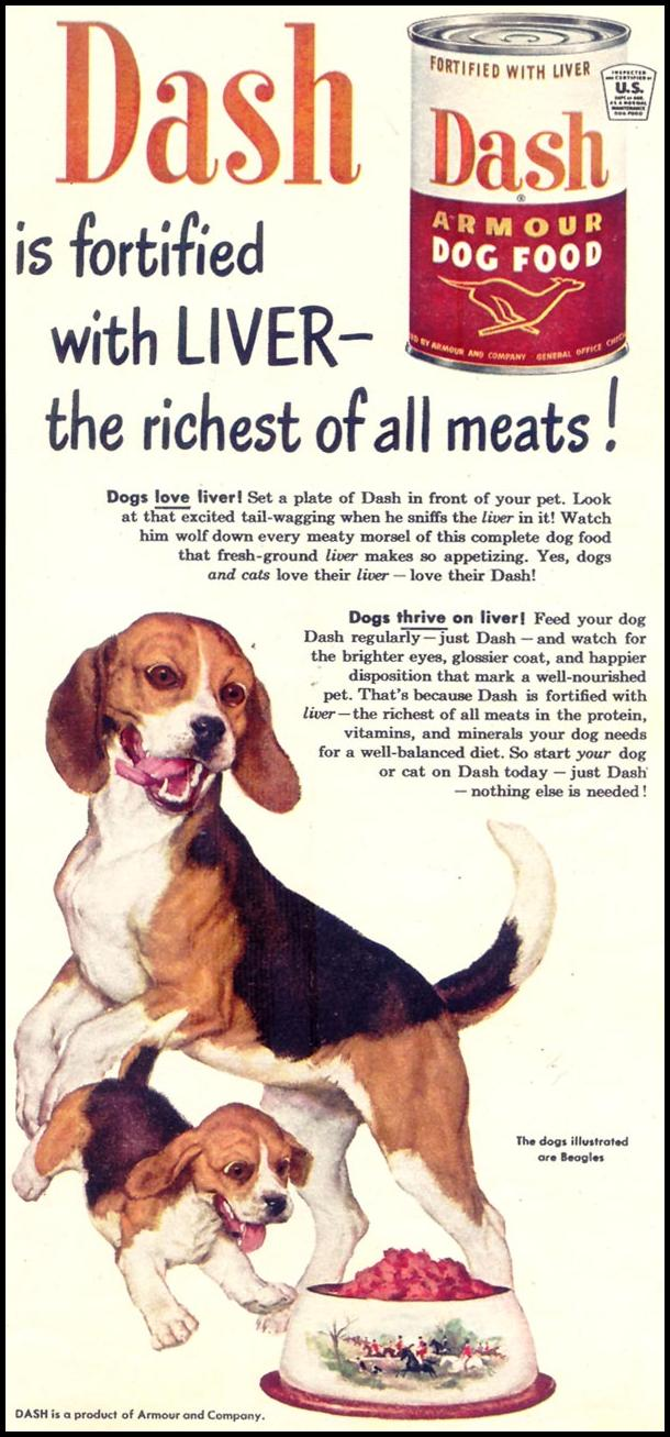 DASH DOG FOOD WOMAN'S DAY 02/01/1950 p. 79