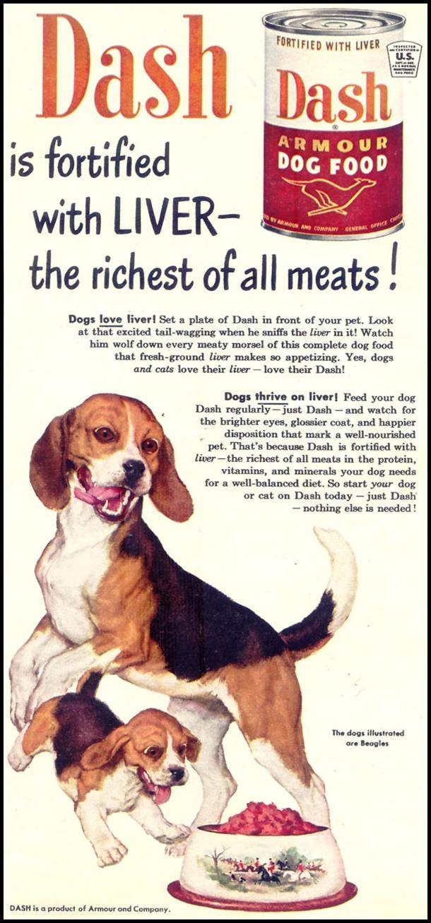 DASH DOG FOOD WOMAN'S DAY 02/01/1950 p. 79