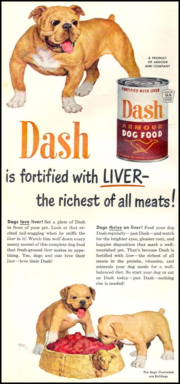 DASH DOG FOOD WOMAN'S DAY 06/01/1950 p. 76
