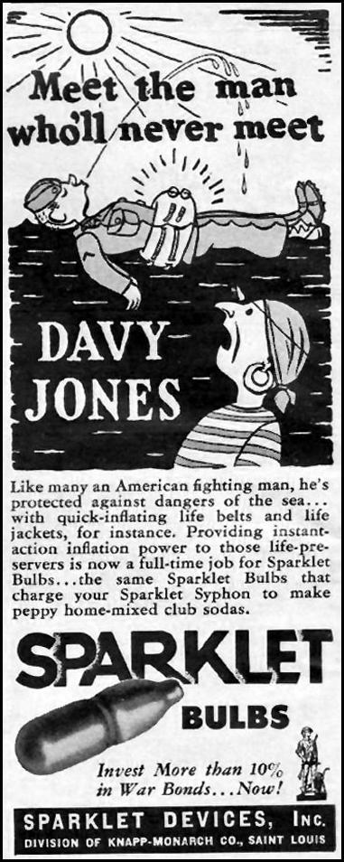 SPARKLET BULBS LIFE 10/11/1943 p. 16