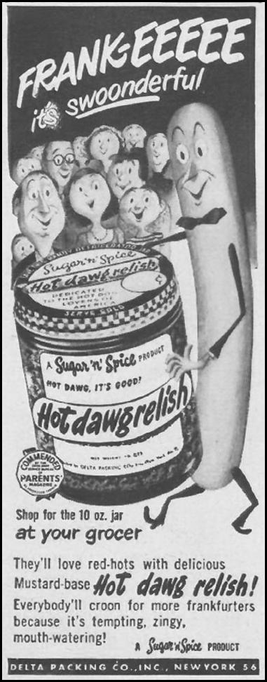 HOT DAWG RELISH LIFE 07/02/1951 p. 66