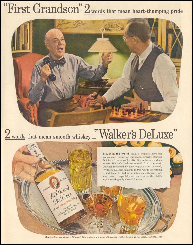 WALKER'S DELUXE BOURBON LIFE 02/21/1944